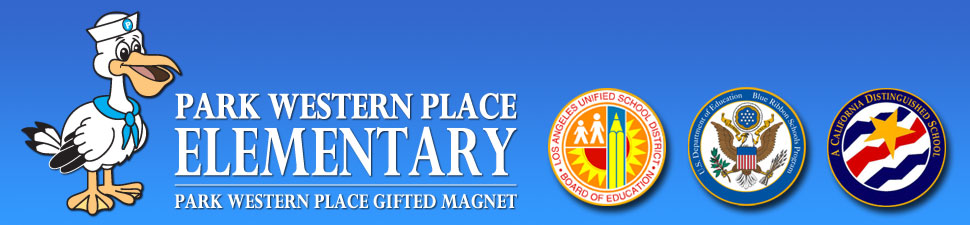 Park Western Place Elementary  Logo